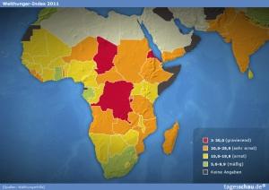 Hunger in Afrika (Quelle: tagesschau.de)